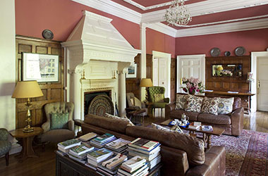 Gliffaes Country House Hotel Lounge